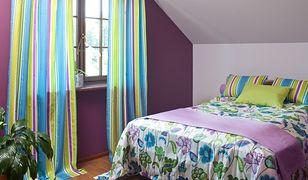 Nowoczesna sypialnia w ciepłym wydaniu
