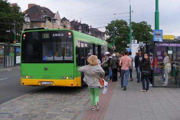 Remonty w Poznaniu - kierowcy stoją w korkach, pasażerowie MPK jakoś sobie radzą