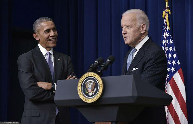 Na zdjęciu Barack Obama i Joe Biden