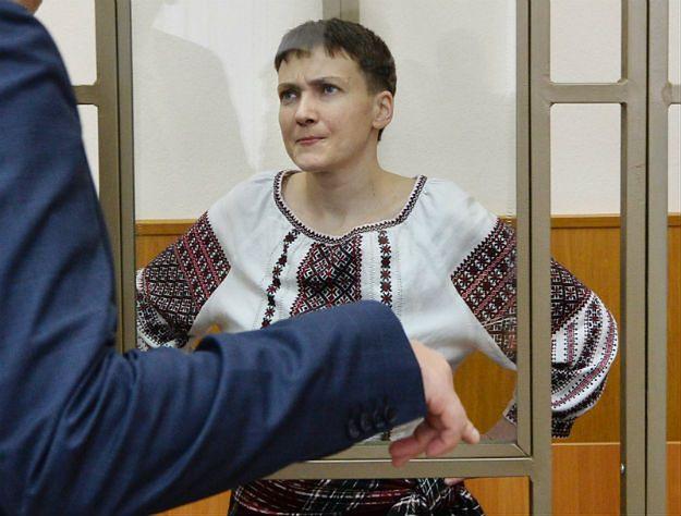 """Sąd odroczył ostatnie słowo Nadii Sawczenko. Ukrainka ogłosiła """"suchą"""" głodówkę"""