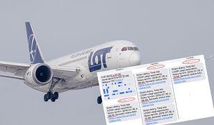Anulowany lot z Warszawy do Londynu