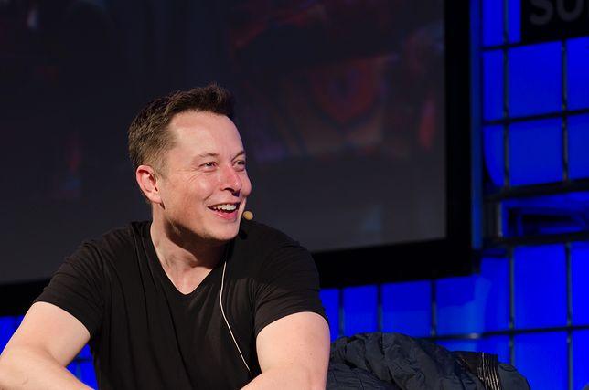 Elon Musk jest według Donalda Trumpa wielką postacią i geniuszem