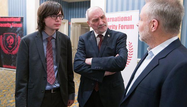 Antoni Macierewicz i Edmund Janniger na International Security Forum 2018