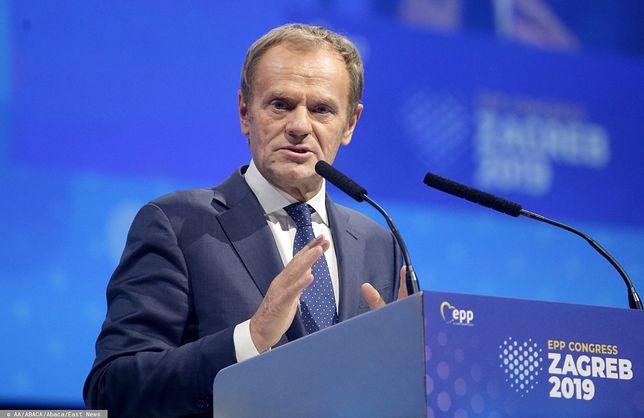 Bruksela. Były Przewodniczący Rady Europejskiej Donald Tusk (zdj. arch.)