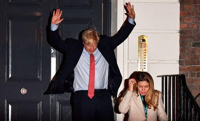 Wielka Brytania. Szef Partii Konserwatywnej Boris Johnson triumfuje