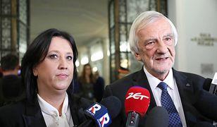 Anita Czerwińska i Ryszard Terlecki
