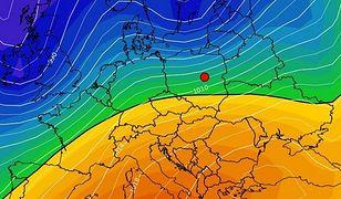 """Pogodę w Polsce w najbliższych dniach kształtować będzie niż """"Toni"""""""