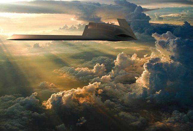 Latające skrzydło General Atomics (wizualizacja)