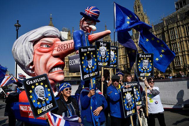 Brytyjscy parlamentarzyści mieli do wyboru cztery propozycje ws. brexitu