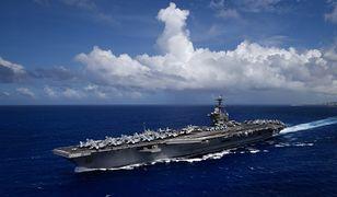 Koronawirus na świecie. USA. Na lotniskowcu USS Theodore Roosevelt nowe przypadki zakażeń.