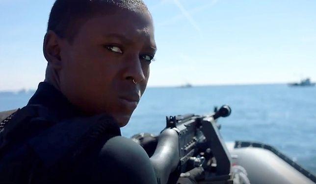"""Jodie Turner-Smith w serialu """"Ostatni okręt""""."""