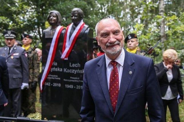 Macierewicz w konflikcie ze stołecznym ratuszem? Chodzi o organizację historycznych obchodów