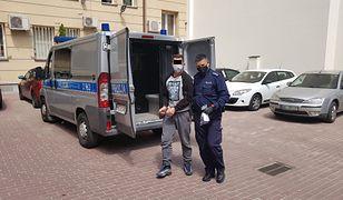 Warszawa. Po interwencji policji, złodzieja rozbolał żołądek