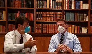 Koronawirus w Brazylii. Jest ostateczny wynik testu prezydenta Jaira Bolsonaro