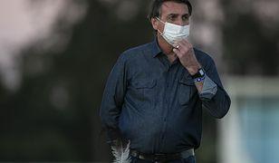 Koronawirus Brazylia. Jair Bolsonaro zakażony koronawirusem. Przeszedł kolejny test
