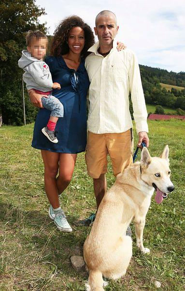 Davina Reeves z rodziną
