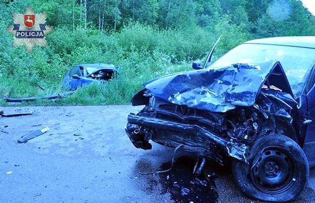 Kierowca pisał sms-a i omal nie zabił kobiety