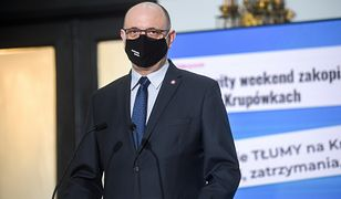 Krzysztof Saczka kontra dr Paweł Grzesiowski. Jest decyzja ws. ewentualnej dymisji szefa GIS