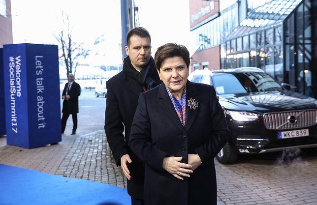 Beata Szydło miała przedłużoną ochronę