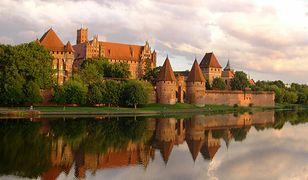 Zamek krzyżacki w Malborku stał się punktem strategicznym w wojnie trzynastoletniej