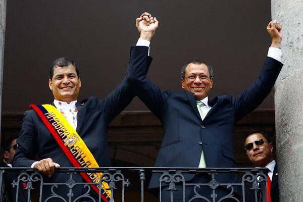 Rafael Correa zaprzysiężony na prezydenta Ekwadoru