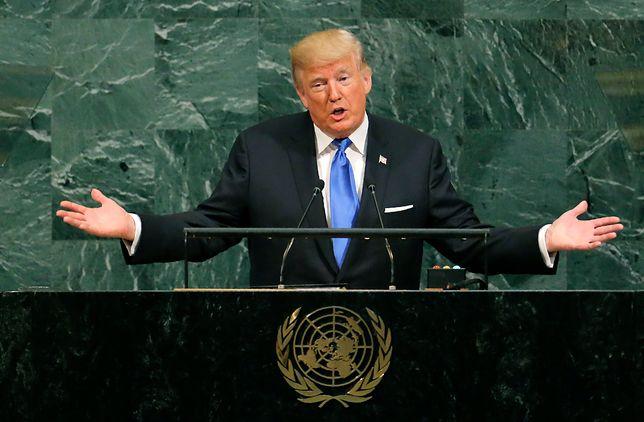 Donald Trump skrytykował kraje wspierające terroryzm
