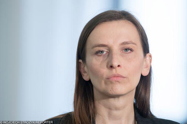 Sylwia Spurek załamana posiłkami w PE