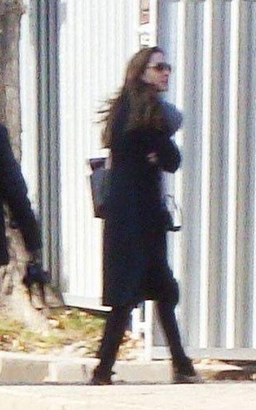 Angelina Jolie w Oświęcimiu!