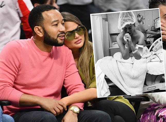 John Legend i Chrissy Teigen przeżyli stratę dziecka w 20. tygodniu ciąży