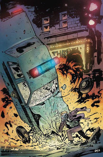 """Terminator. Sector war"", wyd. Scream Comics 2019"