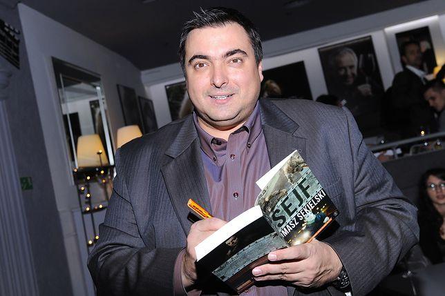 Tomasz Sekielski ma na swoim koncie m.in. książki sensacyjne i thrillery