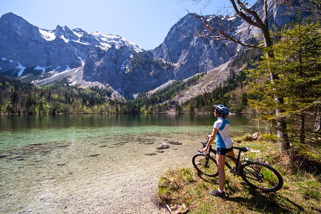 Wakacje w Austrii - rowerem przez Alpy