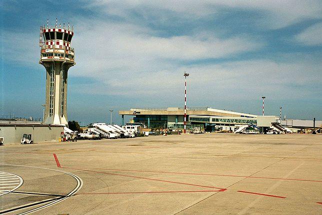 Lotnisko Falcone-Borsellino w Palermo we Włoszech