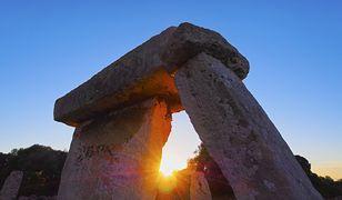 Na Minorce można zobaczyć jedne z najbardziej fascynujących budowli megalitycznych w Europie