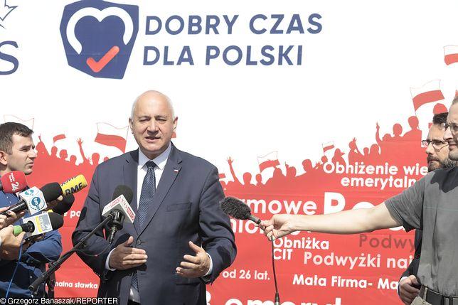 Joachim Brudziński zapewnił, że Jarosław Kaczyński pojawi się we wszystkich okręgach wyborczych