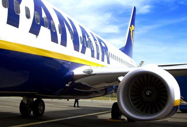 Samolot Ryanair zmuszony do lądowania w Gdańsku. Kuriozalna przyczyna