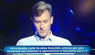 Błażej Stolarski walczył o milion złotych