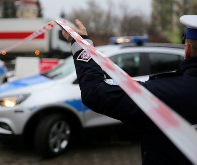 Wisłostrada. Dwa zderzenie. Ranni policjanci. (zdjęcie ilustracyjne)