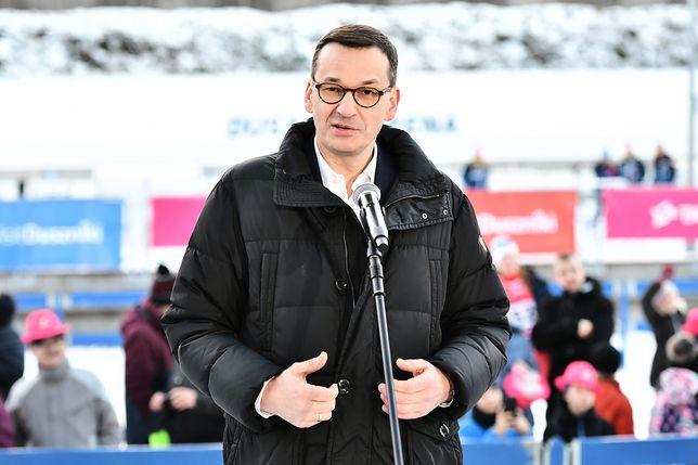 Mateusz Morawiecki nie skomentował poczynań swojego siostrzeńca
