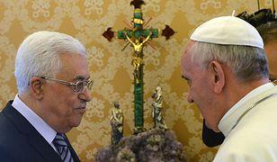 Mahmud Abbas i papież Franciszek