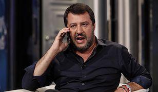 Włochy. Matteo Salvini (wicepremier, lider Ligi Północnej) domaga się przedterminowych wyborów