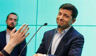Wołodymyr Zełenski obejmie stanowisko prezydenta już w poniedziałek