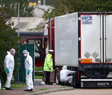 Zarzuty ws. makabrycznej śmierci 39 osób w ciężarówce w Essex