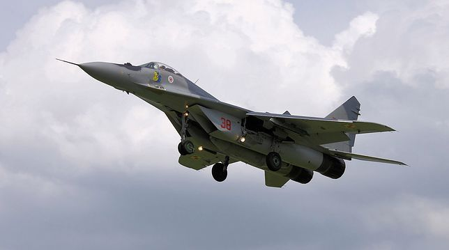 Do czasu kontroli MiG-i-29 z bazy w Mińsku będą wyłączone z użytku