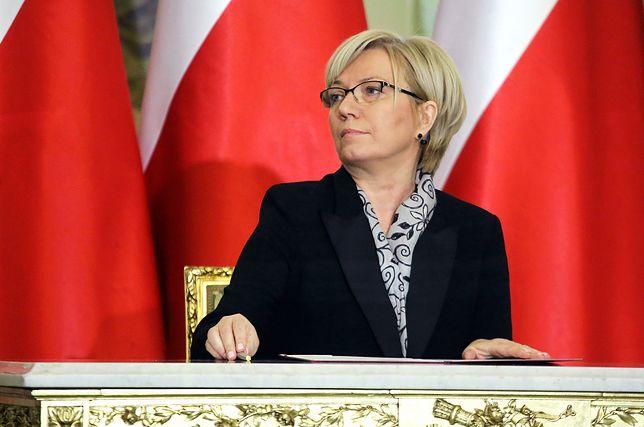 Julia Przyłębska: kwestionowanie konstytucyjności ustaw prowadzi do anarchii