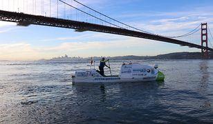 Antonio de la Rosa wypływa z San Francisco, czerwiec 2019.