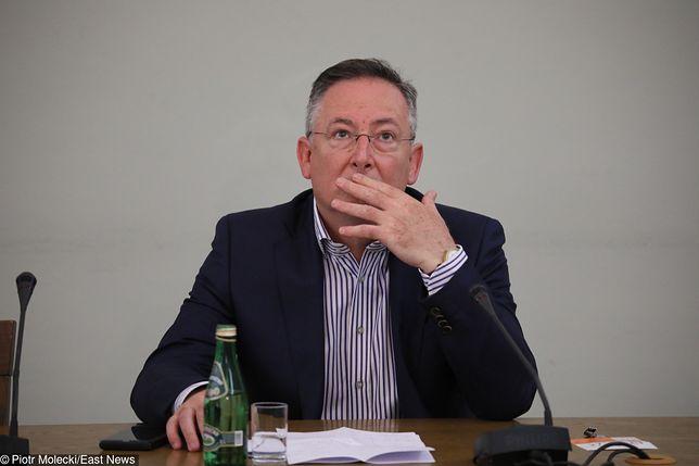 Były minister spraw wewnętrznych Bartłomiej Sienkiewicz