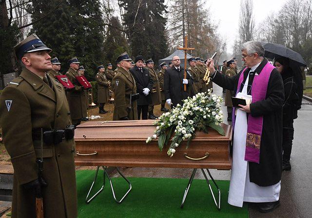 Rodzina i przyjaciele pożegnali Tadeusza Chmielewskiego