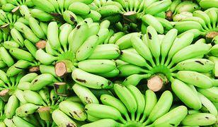 Zielone banany lepsze od żółtych?