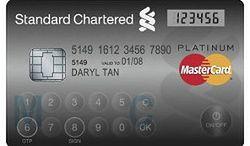Nowe karty kredytowe z klawiaturą i wyświetlaczem